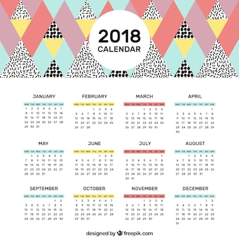 2018 memphis calendar