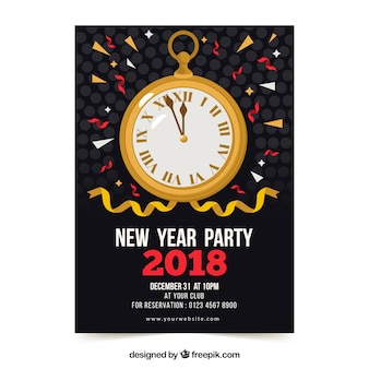 New Years Eve Vectors, Photos and PSD files | Free Download