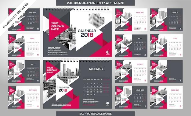 Шаблон рабочего стола 2018