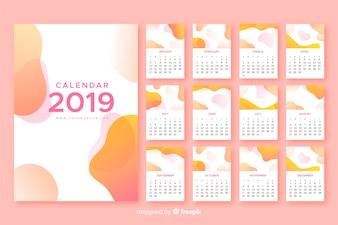 2019 Abstrract Calendar