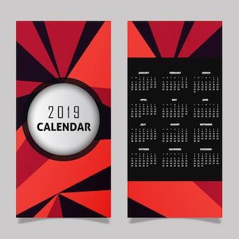 2019 Calendar Design