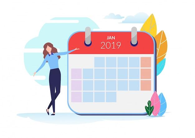 2019 календарь