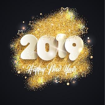 2019年新年の背景。
