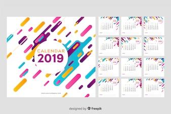 2019 Memphis Calendar