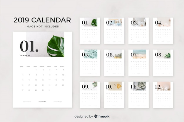 Calendario Para Kinder 2019.Calendar Vectors 19 000 Free Files In Ai Eps Format