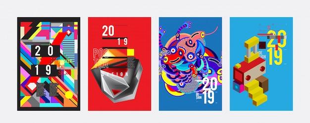 2019ポスターデザインテンプレート
