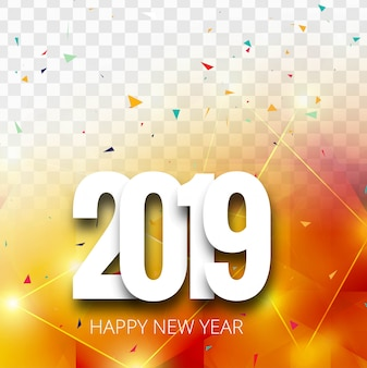 2019 с новым годом текст красочный блестящий фон