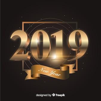 Новый год 2019 фон