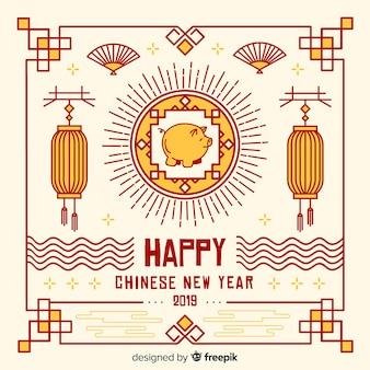 中国の新年2019の背景