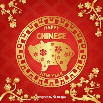中国の新年2019年の背景