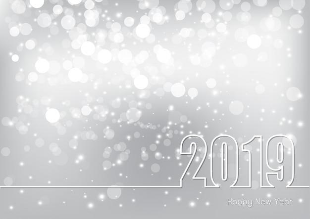 С новым годом тема 2019