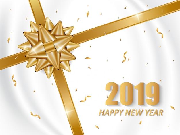 2019 с новым годом дизайн карты.