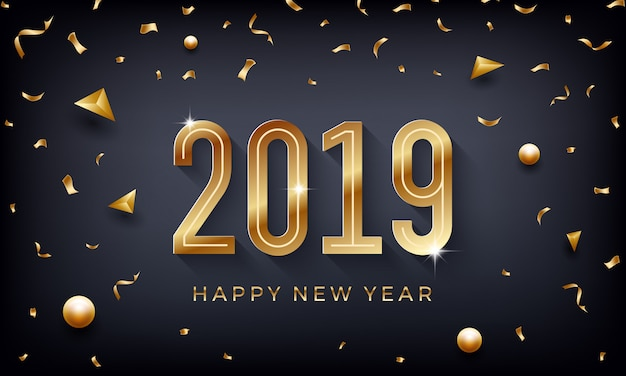 С новым годом 2019