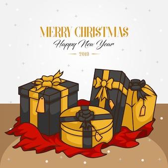 メリークリスマスと幸せな新年2019