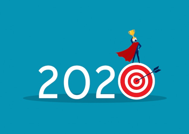 2020 business target goal with hope and get big reward