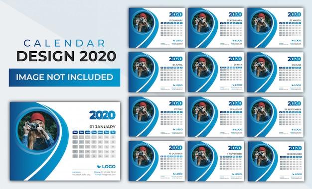 2020 calendar set