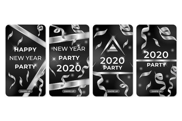 新年2020パーティーコレクションinstagram物語のコレクション