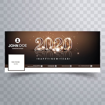 2020 new year  cover  vector