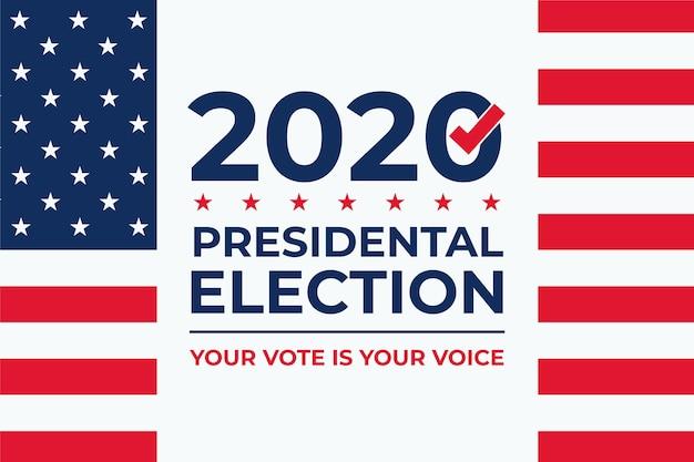 Президентские выборы в сша 2020 фон