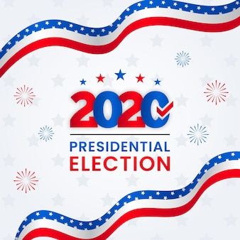 2020 us presidential election concept