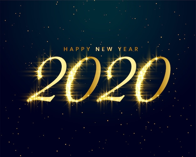 新年あけましておめでとうございます2020グリーティングカード