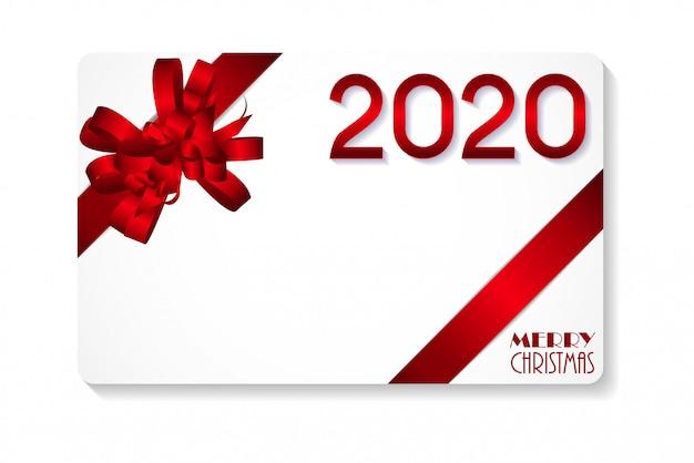 2020新年あけましておめでとうございます、メリークリスマスの背景