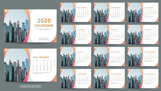 Настенный календарь на 2020 год планировщик