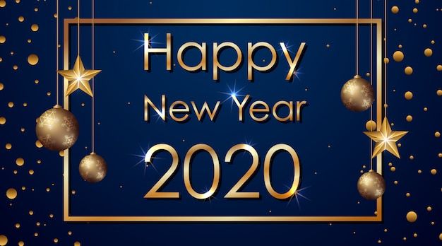 2020年の新年あけましておめでとうございますバナー