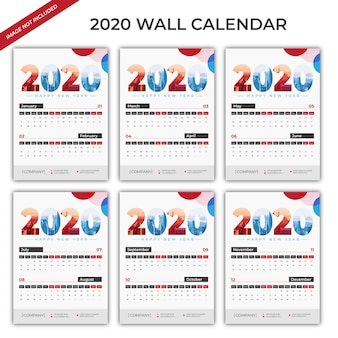 2020 настенный календарь