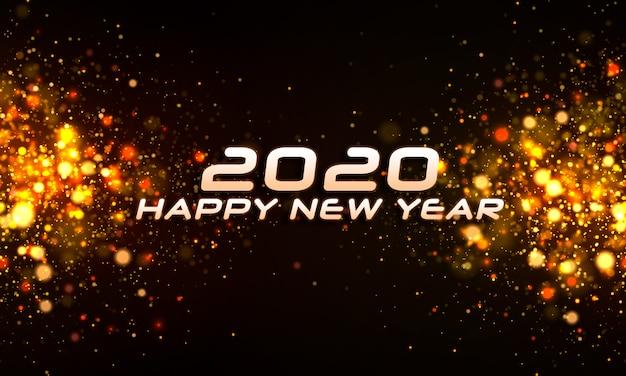 Боке блеск рождество 2020 фон.