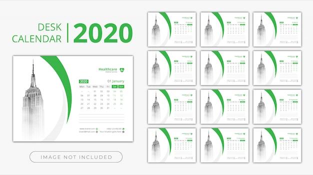 Настольный календарь 2020