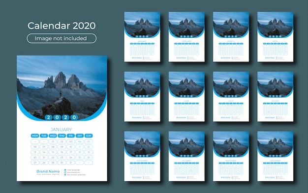Настенный календарь 2020