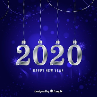 Серебряный новый 2020 год