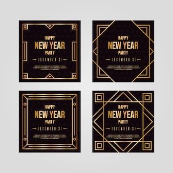 Коллекция новогодней 2020 партии инстаграм пост