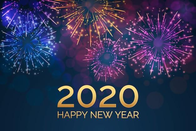 Фейерверк новый год 2020