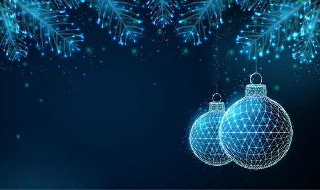 フィット木の枝と抽象的な幸せな2020年新年背景。