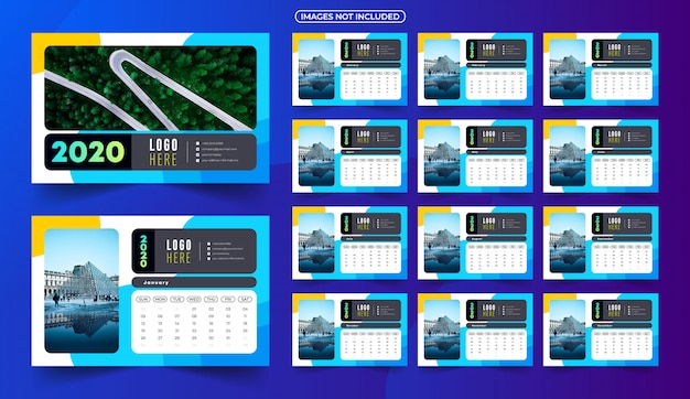 Календарь 2020 с изображениями