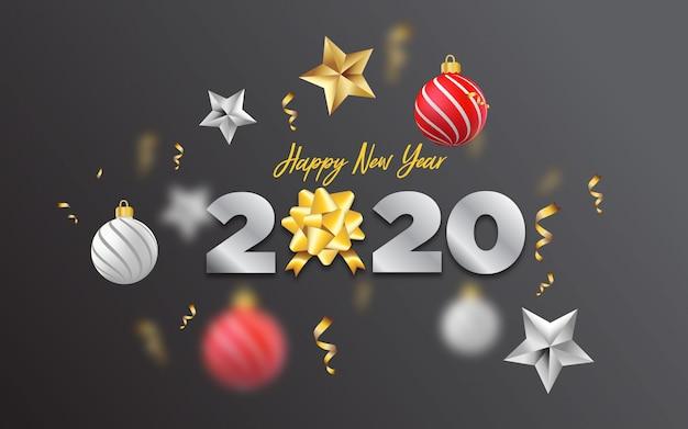 新年あけましておめでとうございます2020年背景