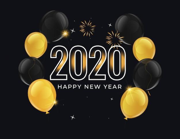 Фон нового года 2020