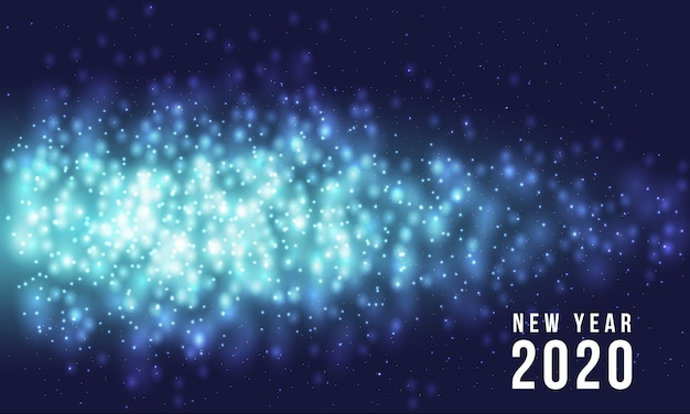 2020年の新年の背景