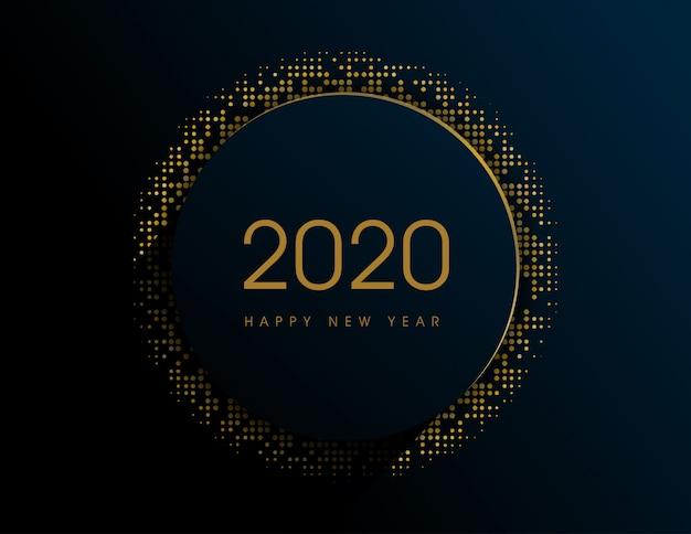 С новым годом 2020 фон