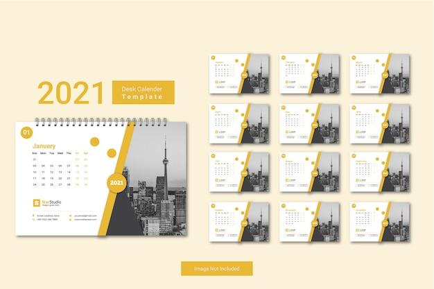 2021 calendar minimal template
