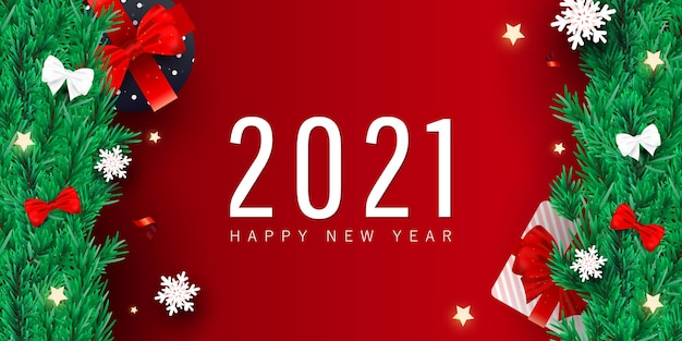 2021 christmas and new year creative style