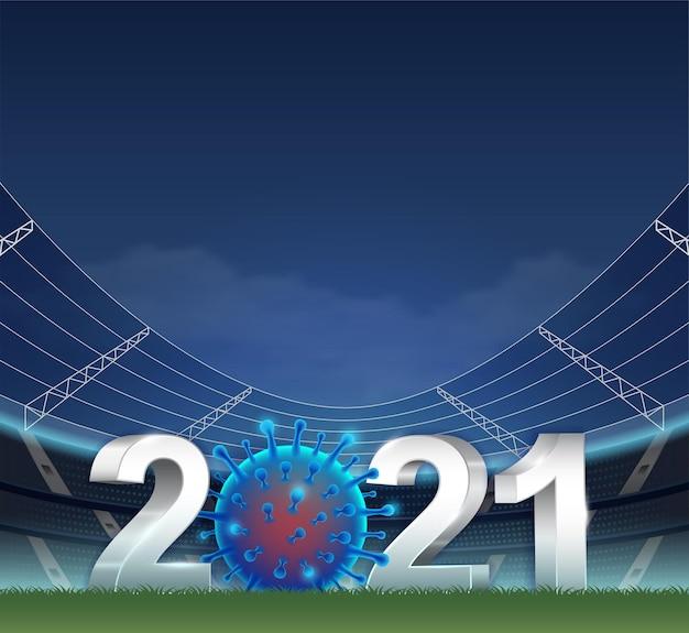2021 covid-19 대유행으로 축구에 혼란이 발생했습니다