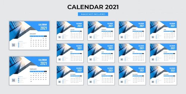2021 년 탁상 캘린더