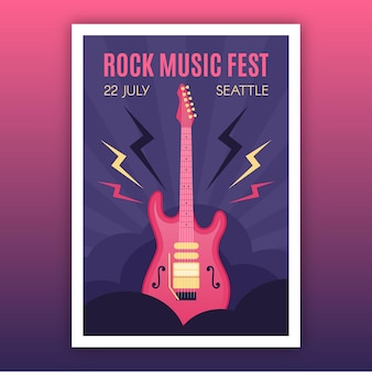 2021 illustrated music festival poster