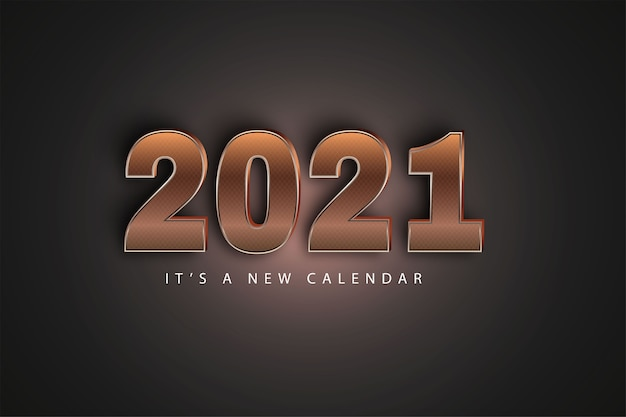 2021 it's a new calendar background
