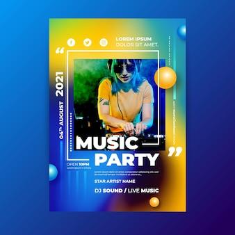 2021音楽イベントポスター