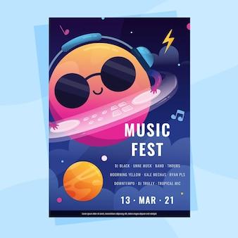 Афиша музыкального фестиваля 2021
