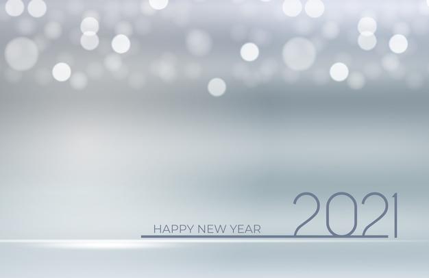 2021年の新年とメリークリスマスの背景